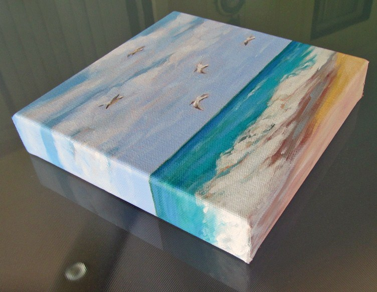 """Soaring-2"" original fine art by Joanna Bingham"