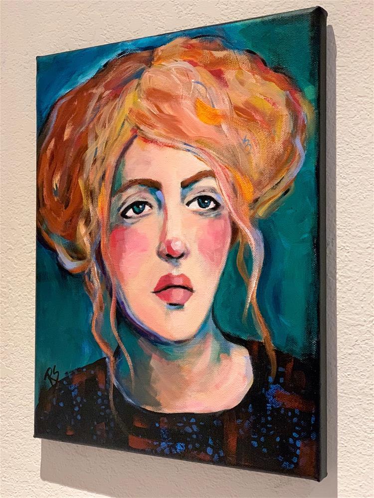"""The Weight of My Intentions"" original fine art by Roberta Schmidt ArtcyLucy"