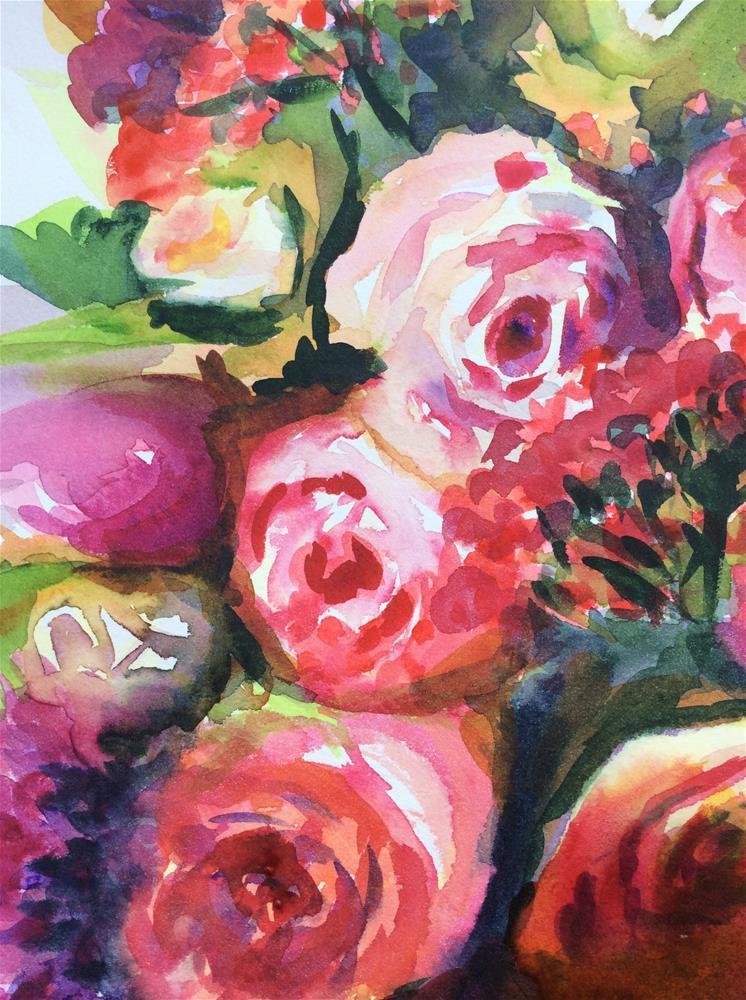 """Indulgence"" original fine art by Molly Rohrscheib Hathaway"