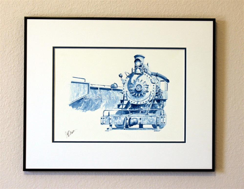 """Southern Pacific No.5"" original fine art by Jeff Mott"