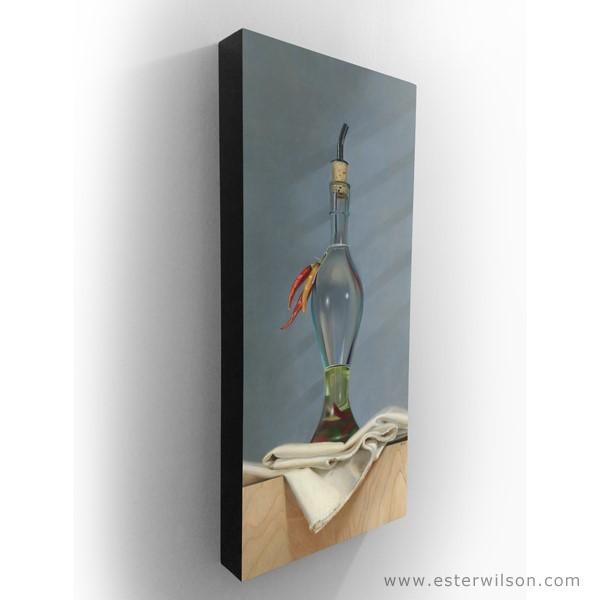 """Spiced Oil"" original fine art by Ester Wilson"