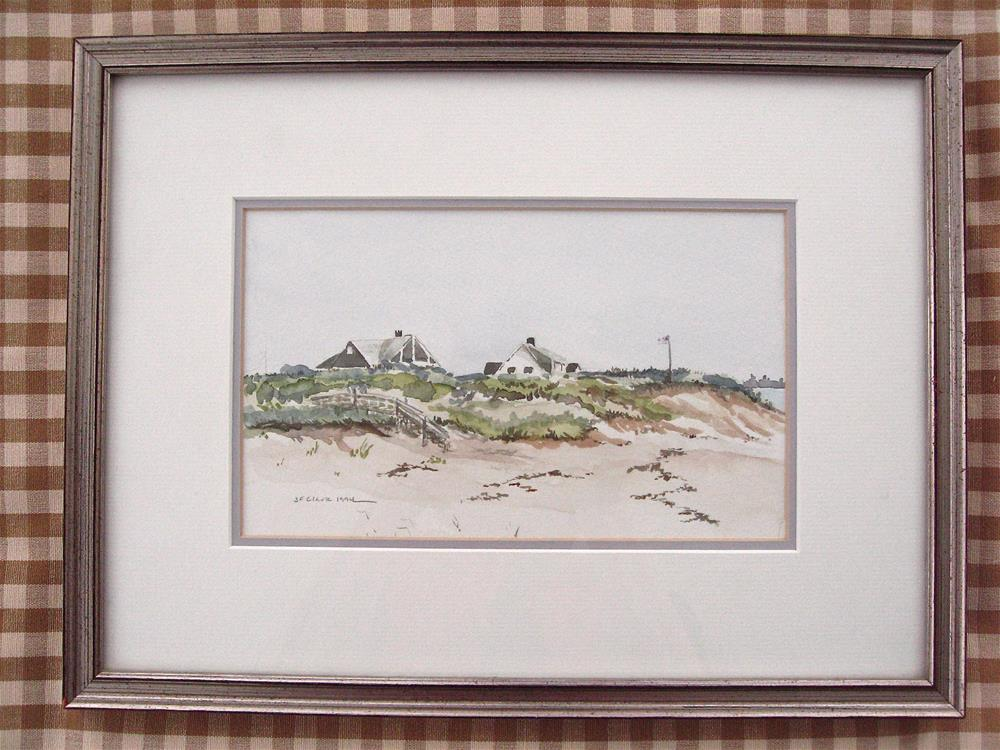 """""""Sesuit Neck, Cape Cod MA"""" original fine art by Judith Freeman Clark"""