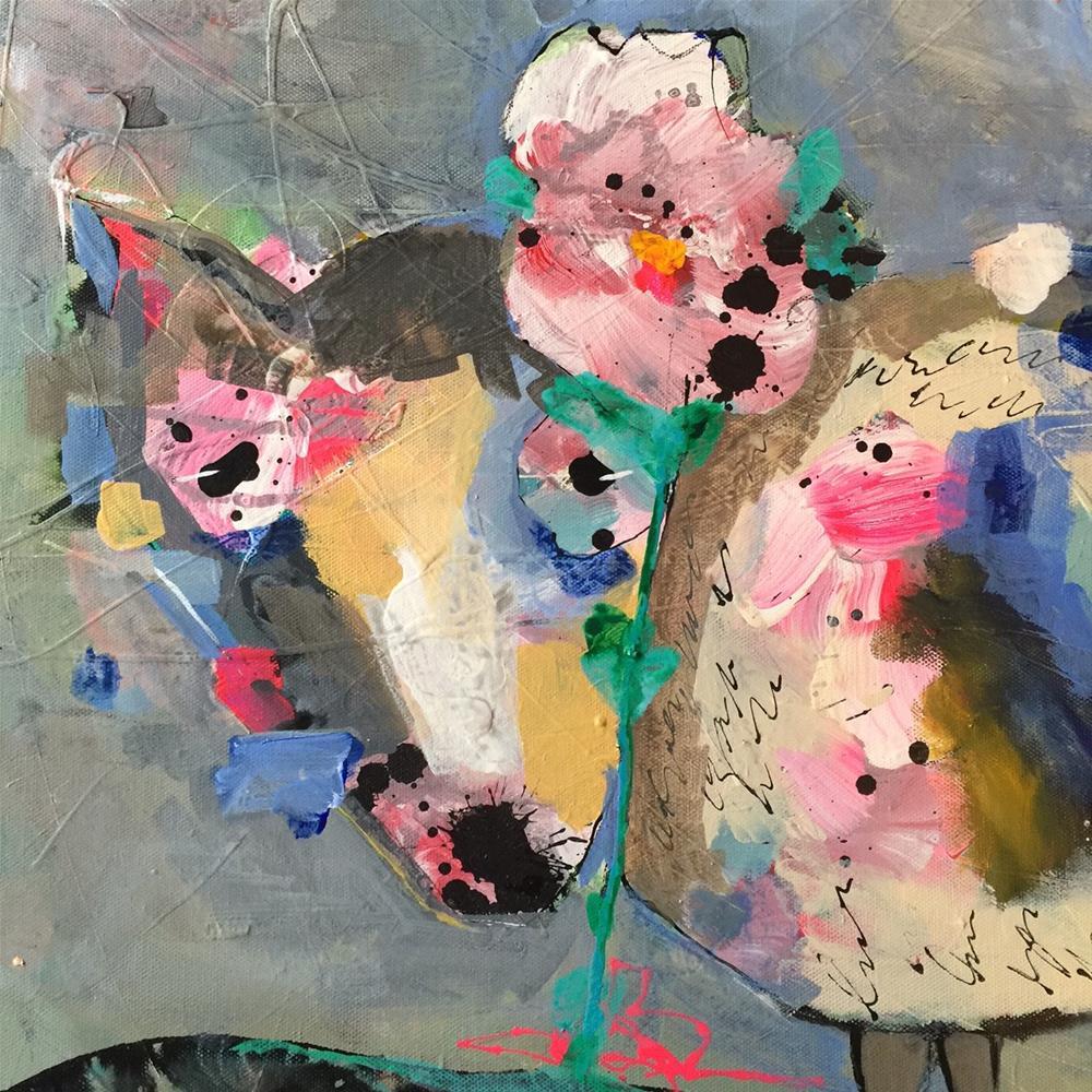 """""""180 Recovery"""" original fine art by Jenny Doh"""