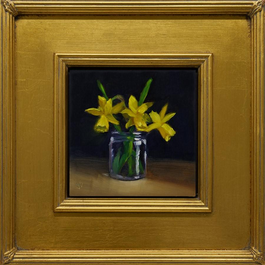 """Coming Soon (Framed)"" original fine art by Johnna Schelling"