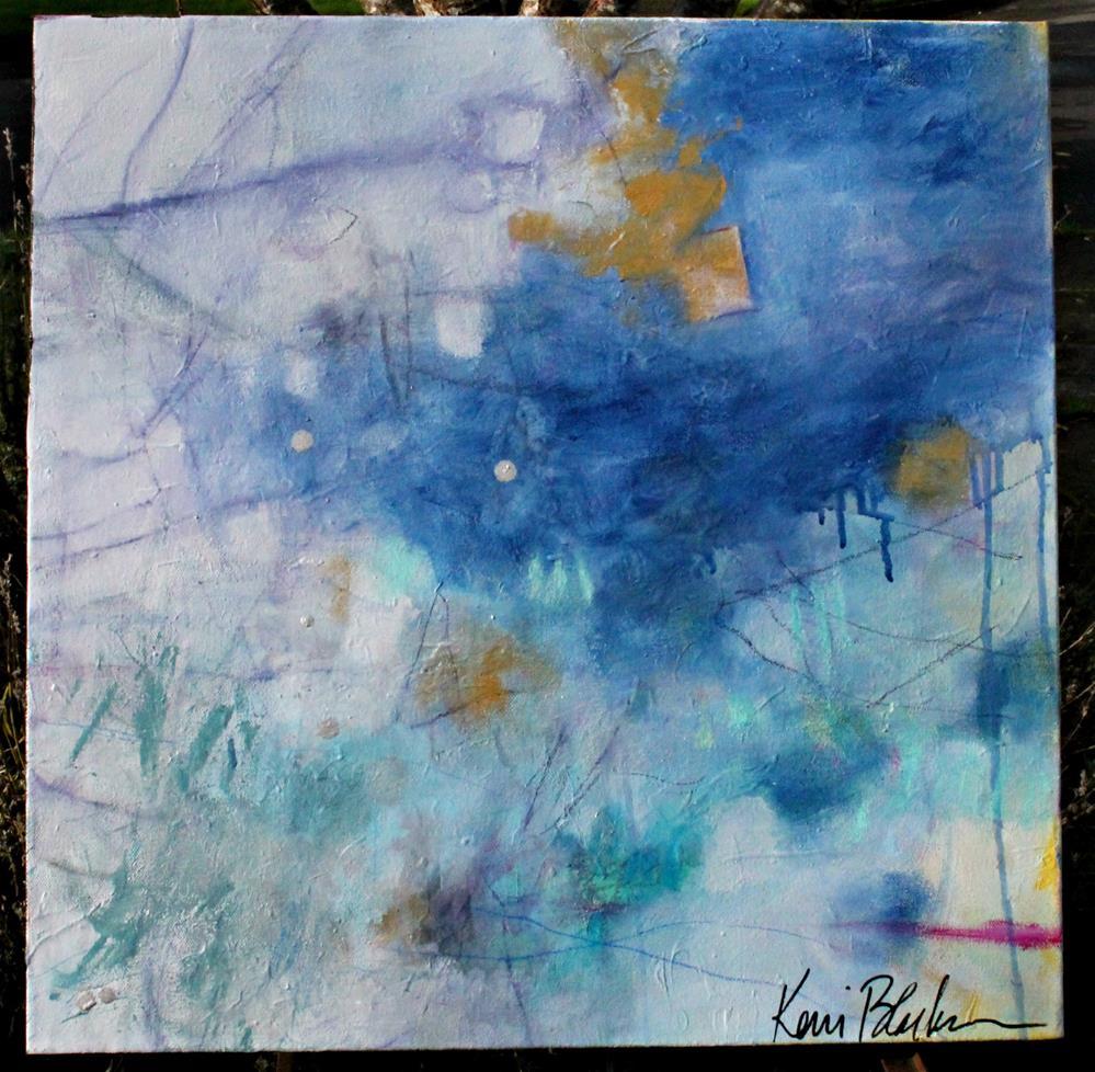 """""""January Stillness """" original fine art by Kerri Blackman"""