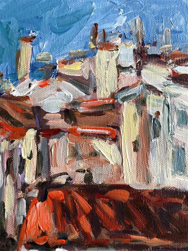 """""""Ufizzi View"""" original fine art by Alina Vidulescu"""