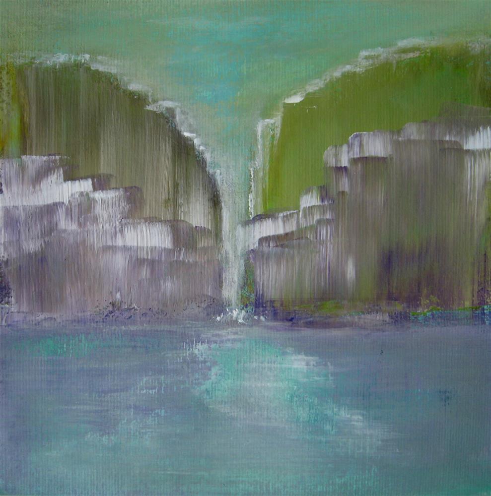 """""""Narrow"""" original fine art by Alina Frent"""