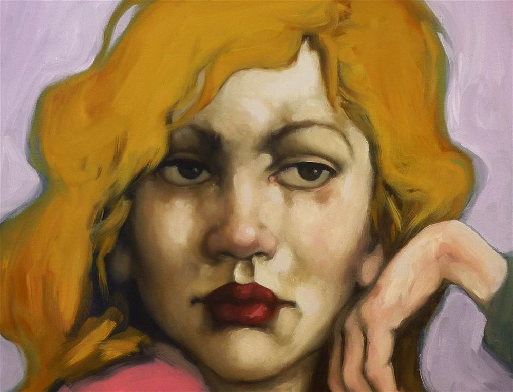 """Draped"" original fine art by Kayleen Horsma"