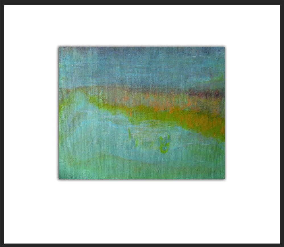 """River Bank"" original fine art by Alina Frent"