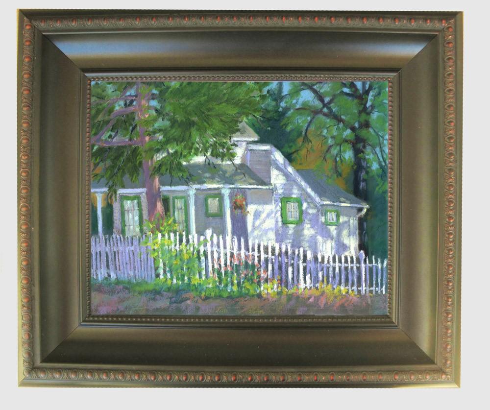 """""""Murphys House"""" original fine art by Rhett Regina Owings"""