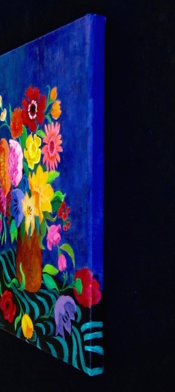 """""""Color Therapy"""" original fine art by Patricia Musgrave"""