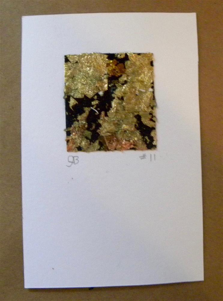 """Pocket of Gold"" original fine art by cheryl buhrman"