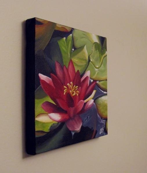 """Water Lily"" original fine art by ~ces~ Christine E. S. Code"