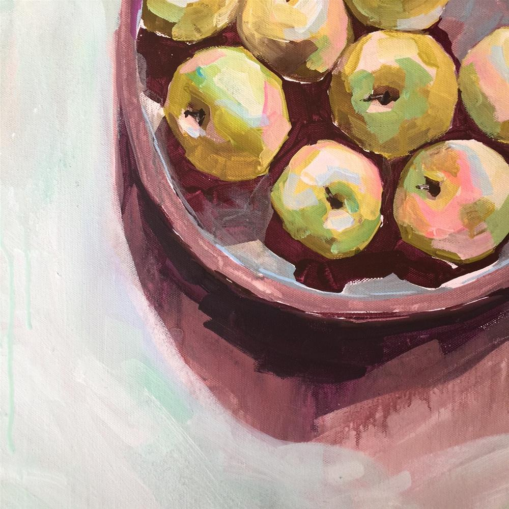 """621 Them Apples"" original fine art by Jenny Doh"