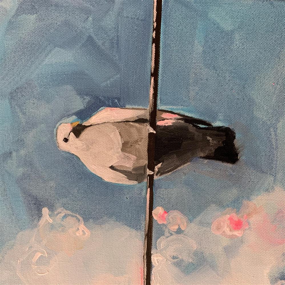 """832 I WILL"" original fine art by Jenny Doh"