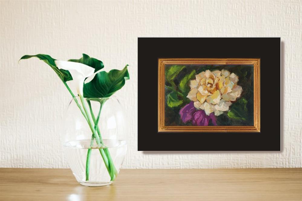 """August Rose"" original fine art by Rhett Regina Owings"