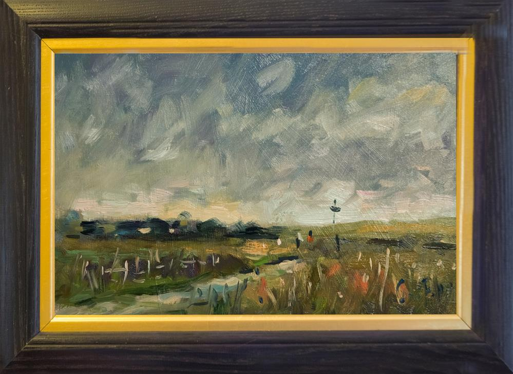 """""""Track at Climping"""" original fine art by Andre Pallat"""