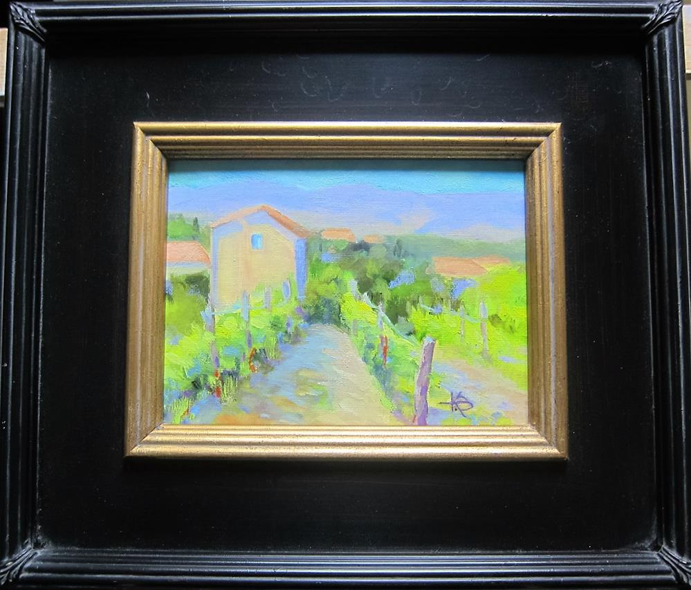 """Tuscany Harvest"" original fine art by Kathy Bodamer"