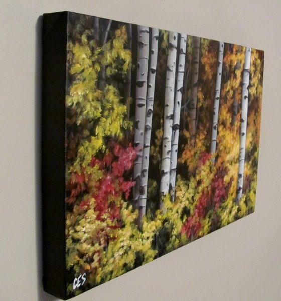 """Autumn Expressions"" original fine art by ~ces~ Christine E. S. Code"