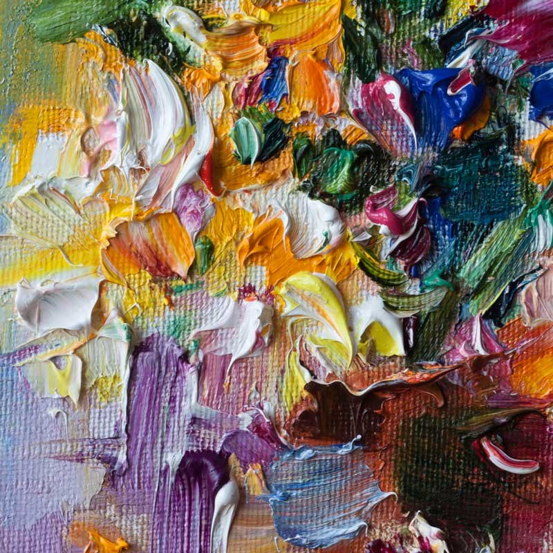 """Bouquet of Wildflowers"" original fine art by Anna Fine Art"