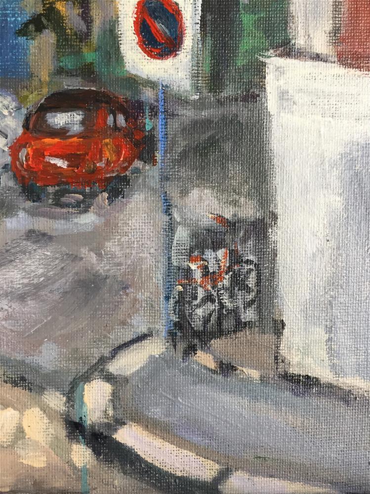 """""""Bergen Street Scene"""" original fine art by Alina Vidulescu"""