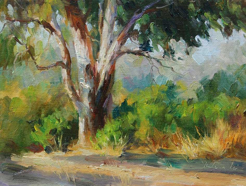 """Summer colors"" original fine art by Kelvin Lei"