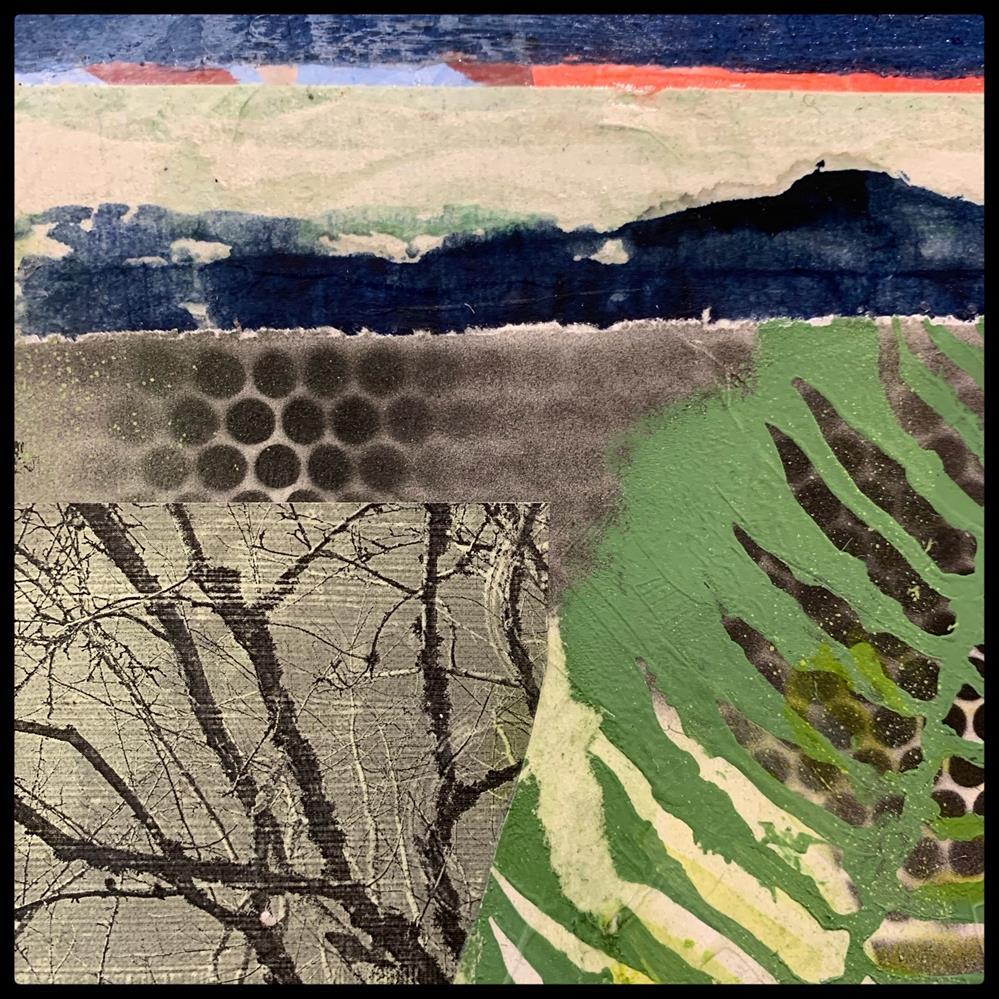 """Understory"" original fine art by Jo Reimer"