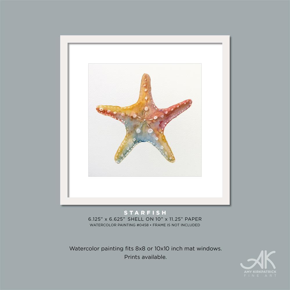 """STARFISH #0458"" original fine art by Amy Kirkpatrick"