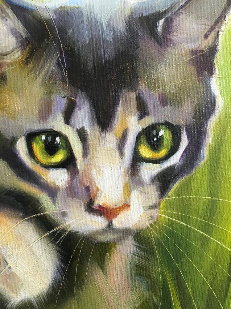 """Adopt392"" original fine art by Katya Minkina"
