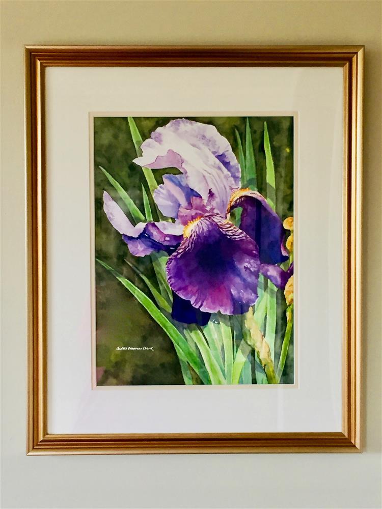 """""""Garden Royalty II"""" original fine art by Judith Freeman Clark"""