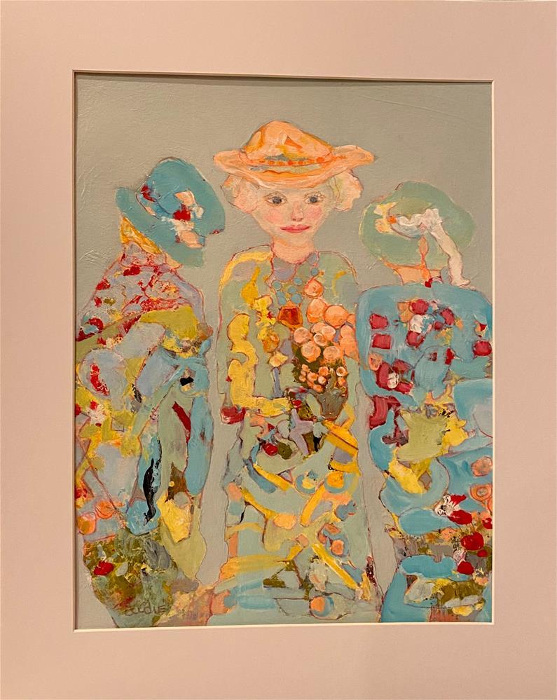 """""""SISTERHOOD SUMMIT """" original fine art by Judie Mulkey"""