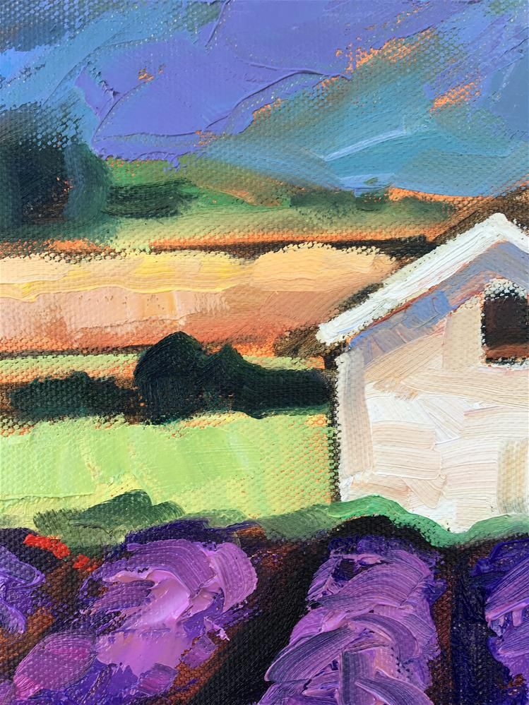 """Provence in Spring"" original fine art by Krista Eaton"