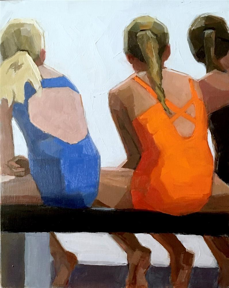 """""""Girls Of Summer ll"""" original fine art by Dana Cooper"""