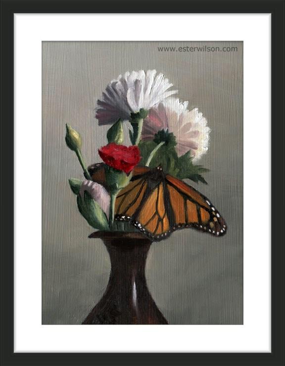 """Butterfly Bouquet"" original fine art by Ester Wilson"