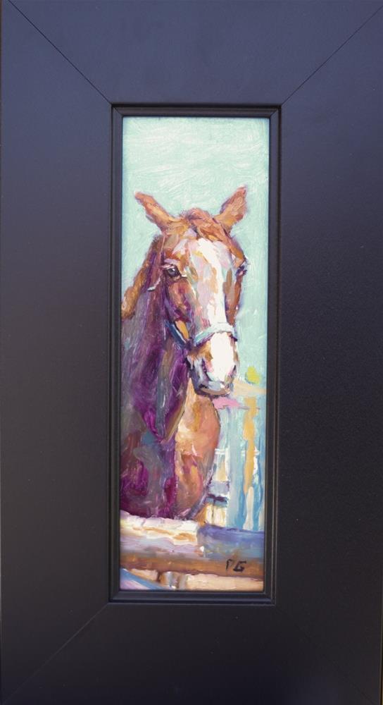 """Horse № 1"" original fine art by Dimitriy Gritsenko"
