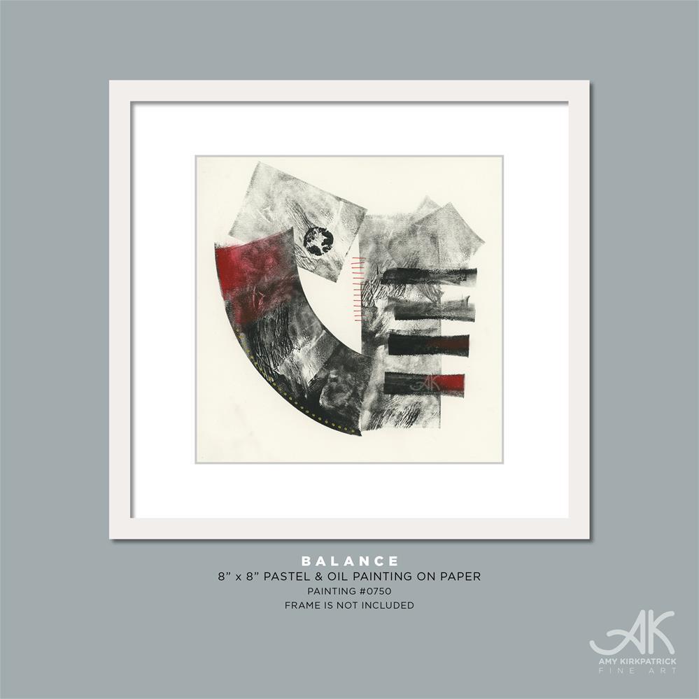 """BALANCE #0750"" original fine art by Amy Kirkpatrick"