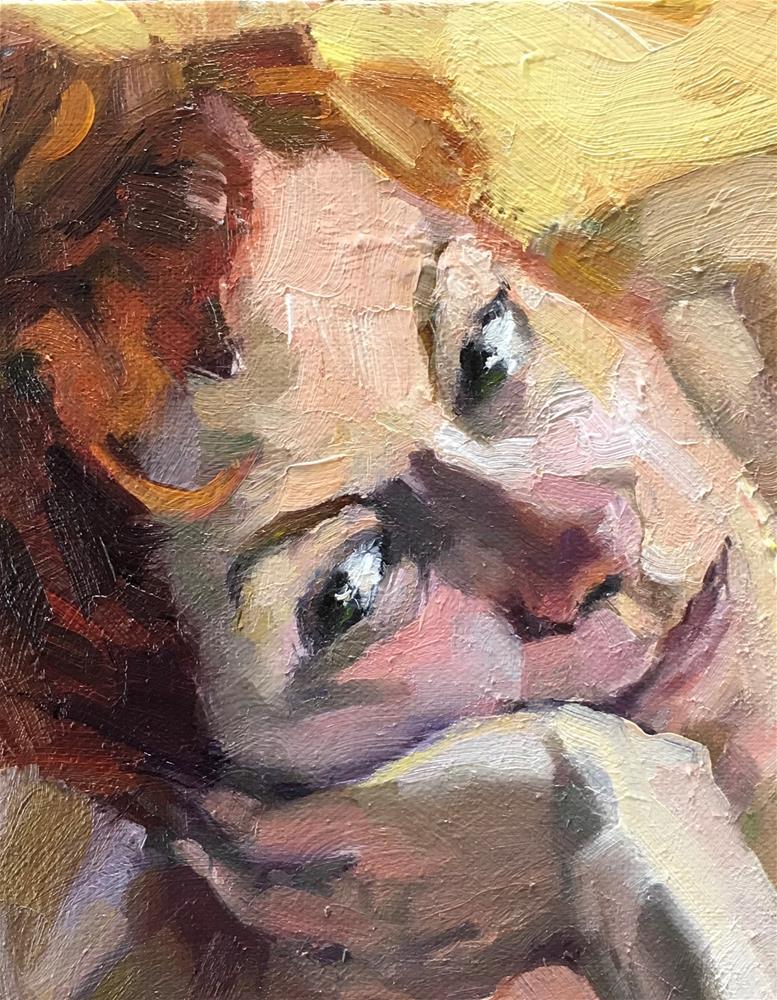 """Croquis Cafe16"" original fine art by Katya Minkina"