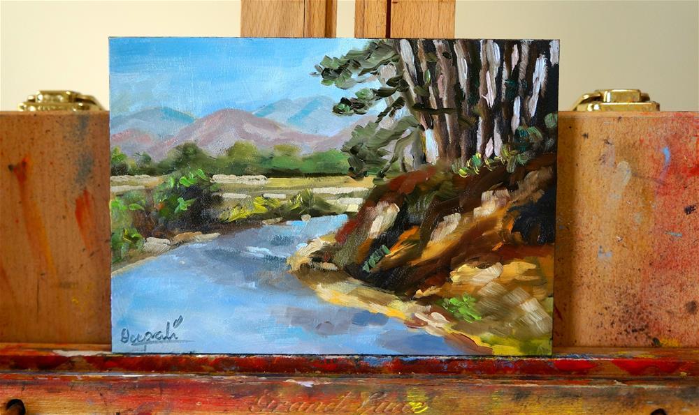 """Landscape"" original fine art by Dipali Rabadiya"