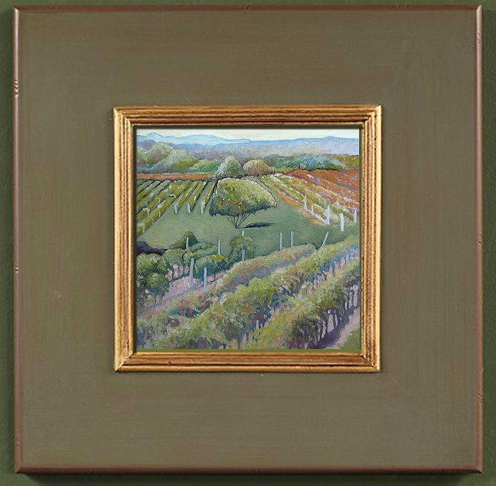 """East Coast Vineyards I"" original fine art by Catherine Twomey"