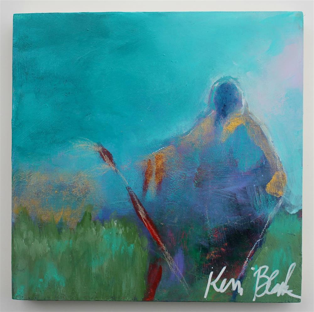 """Standing in Strength "" original fine art by Kerri Blackman"