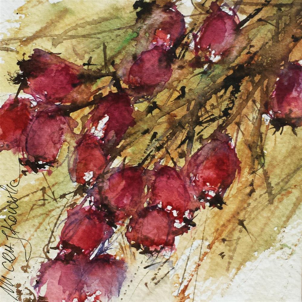 """Hawthorn 3"" original fine art by Marlena Czajkowska"
