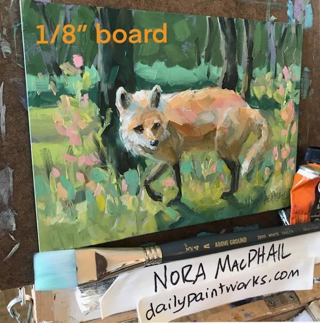 """go for a stroll"" original fine art by Nora MacPhail"