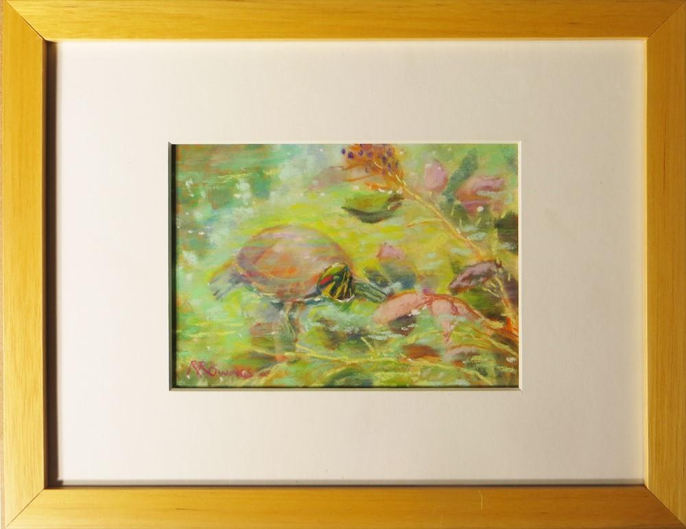 """Up For Air"" original fine art by Rhett Regina Owings"
