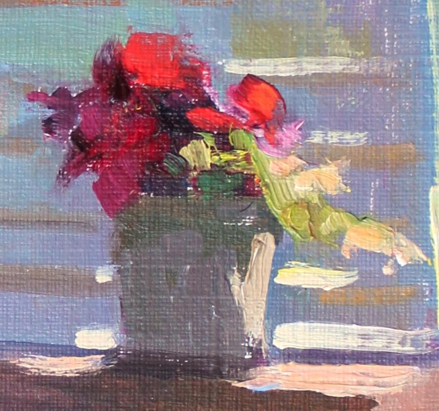 """""""Flowers in Light"""" original fine art by Kristian Matthews"""