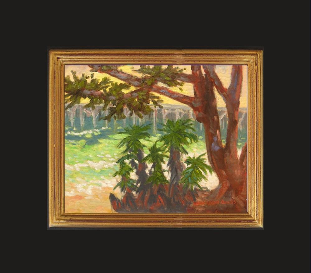 """Bay Sparkle"" original fine art by Rhett Regina Owings"