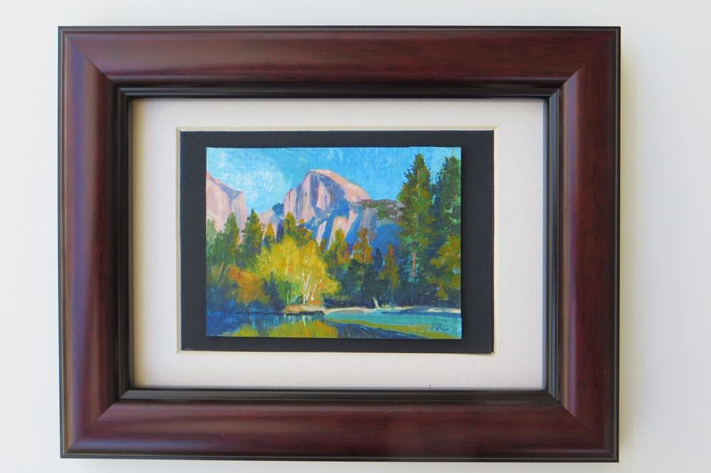 """Half Dome "" original fine art by Rhett Regina Owings"
