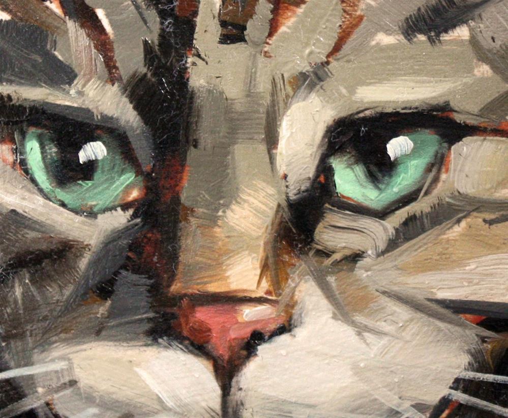 """""""Queen Maxine"""" original fine art by Cathleen Rehfeld"""