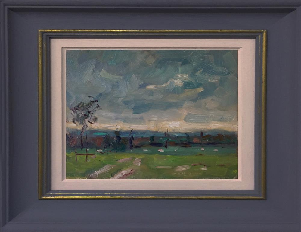 """Slindon Estate"" original fine art by Andre Pallat"