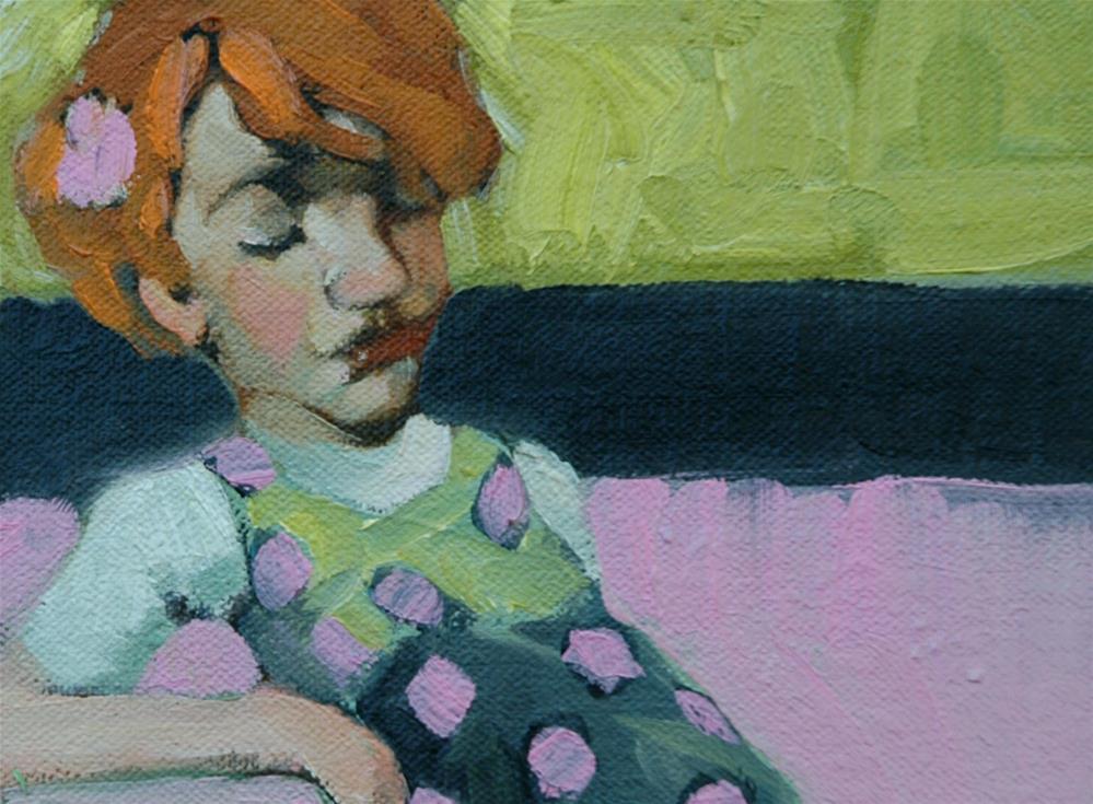 """Bit Missesh"" original fine art by Kayleen Horsma"
