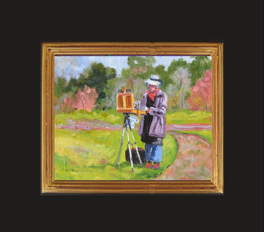 """Plein Air Painter"" original fine art by Rhett Regina Owings"